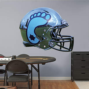 North Carolina Tar Heels Chrome Helmet